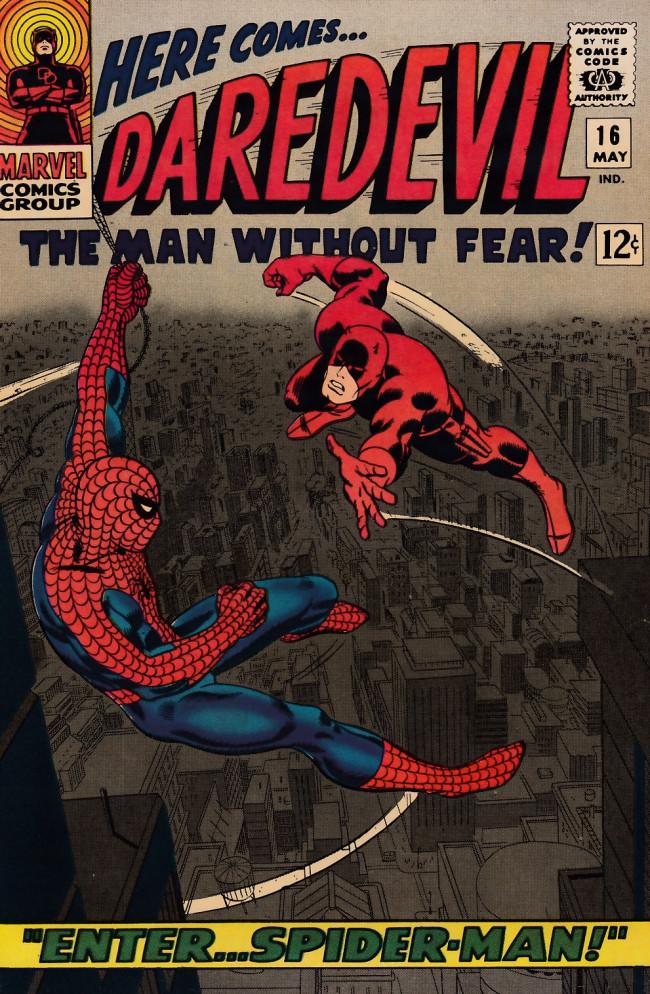 Couverture de Daredevil (1964) -16- Enter...Spider-man