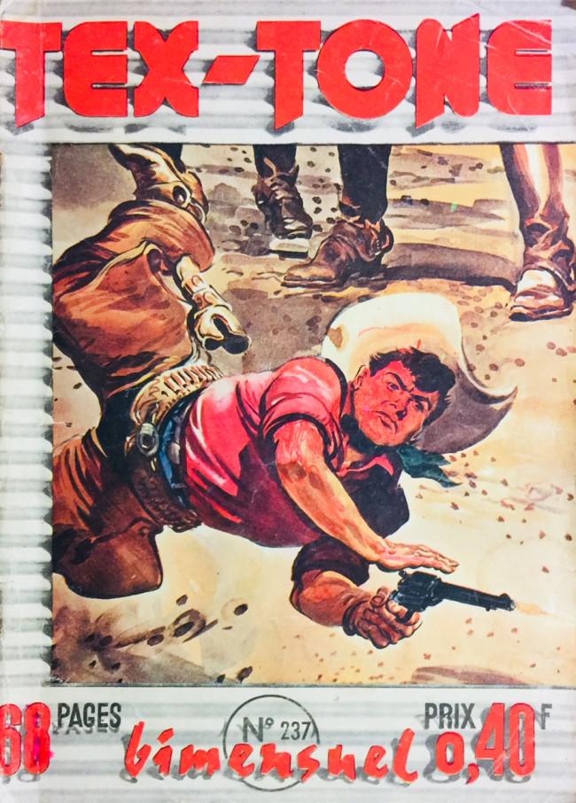 Couverture de Tex-Tone -237- Les fréres Clark