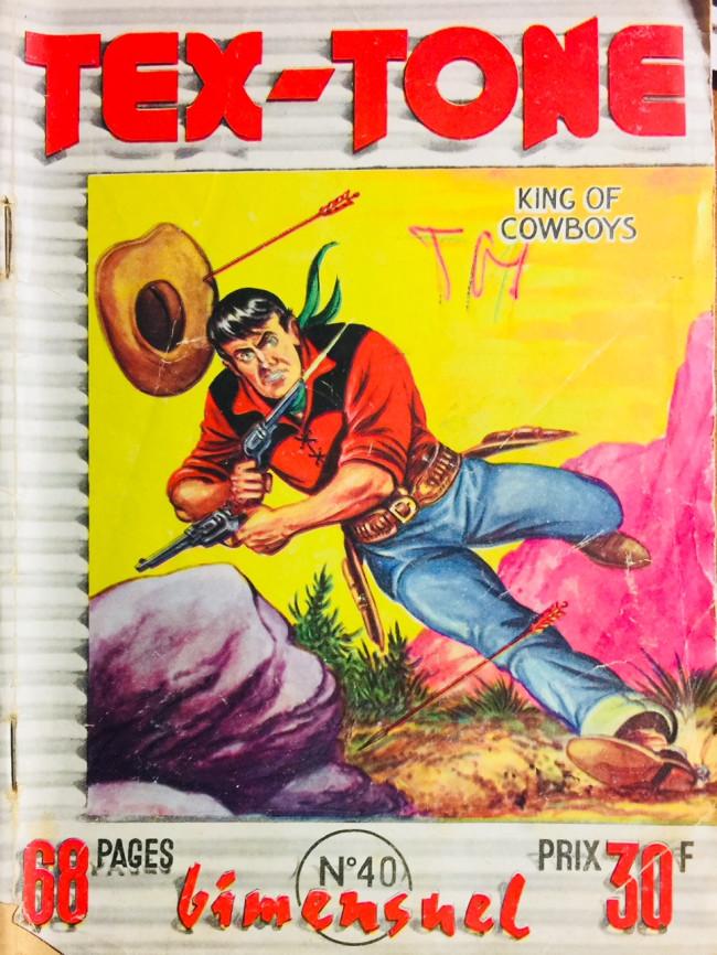 Couverture de Tex-Tone -40- Tex-Tone et la bataille de Twin Rocks