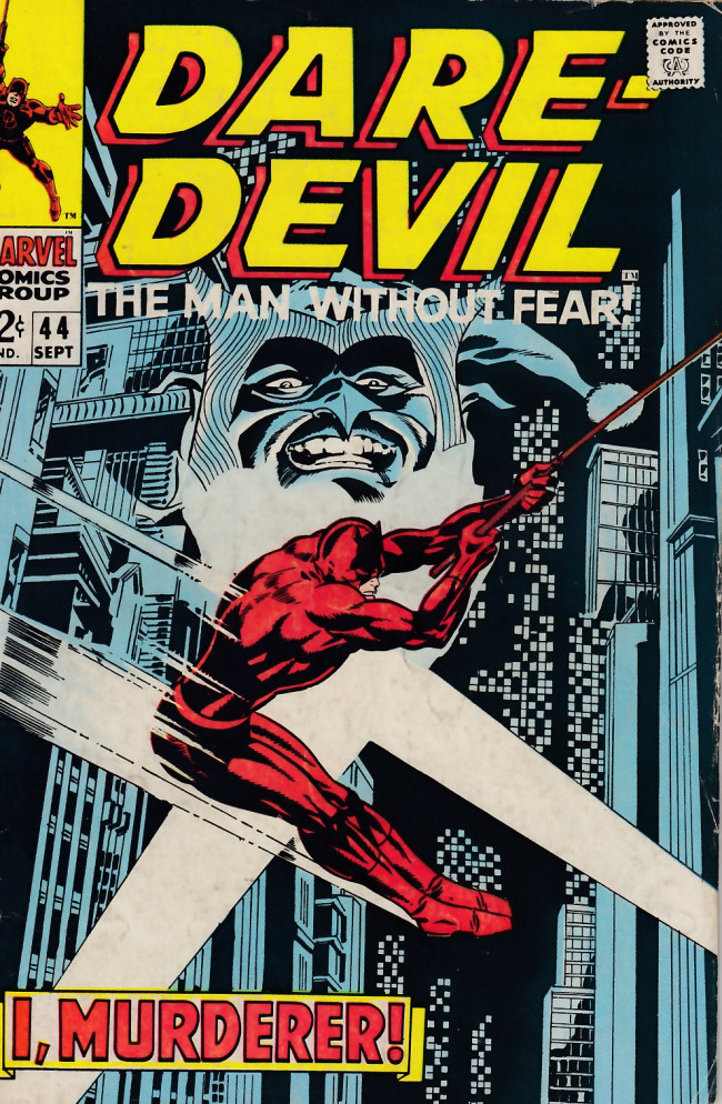 Couverture de Daredevil Vol. 1 (Marvel - 1964) -44- I, murderer!