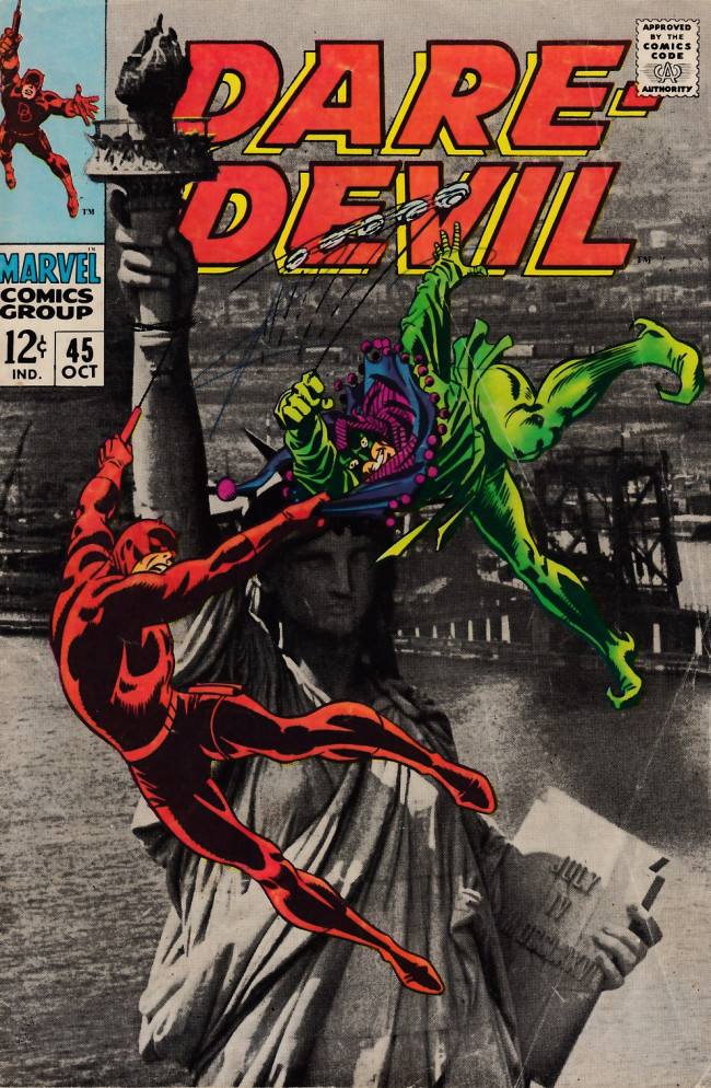 Couverture de Daredevil (1964) -45- The dismal dregs of defeat