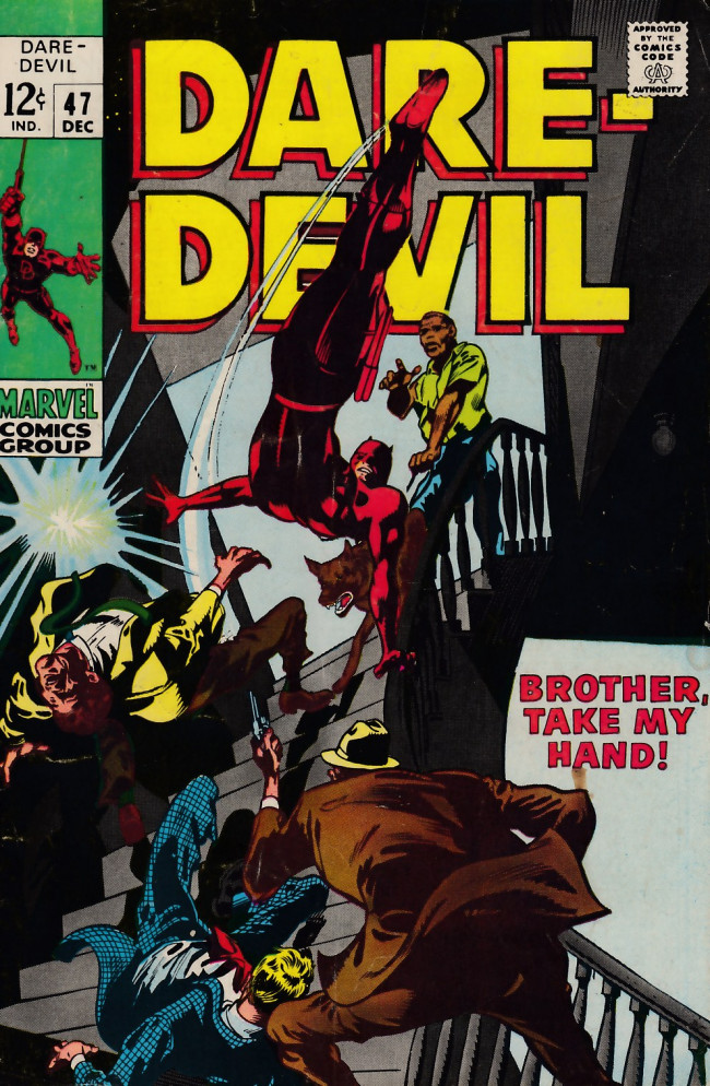 Couverture de Daredevil (1964) -47- Brother, Take My Hand!