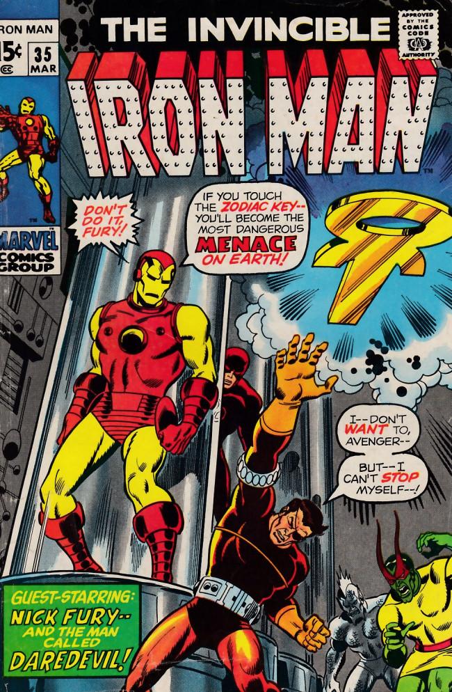 Couverture de Iron Man Vol.1 (Marvel comics - 1968) -35- Revenge