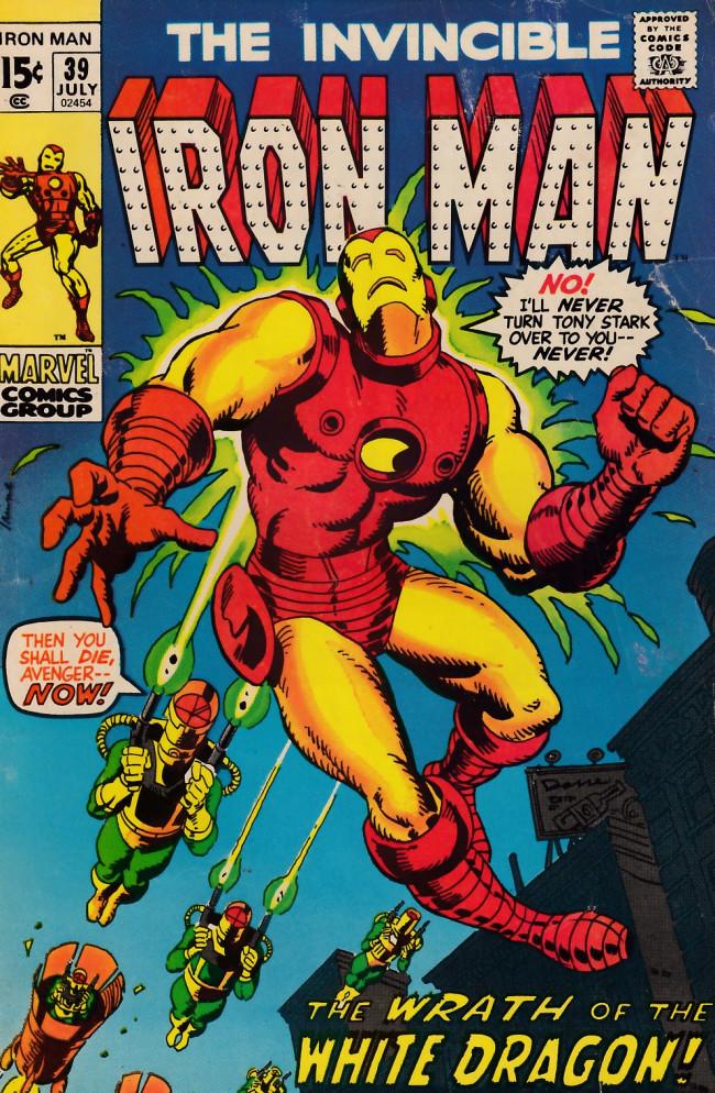 Couverture de Iron Man Vol.1 (Marvel comics - 1968) -39- A twist of memory, a turn of mind