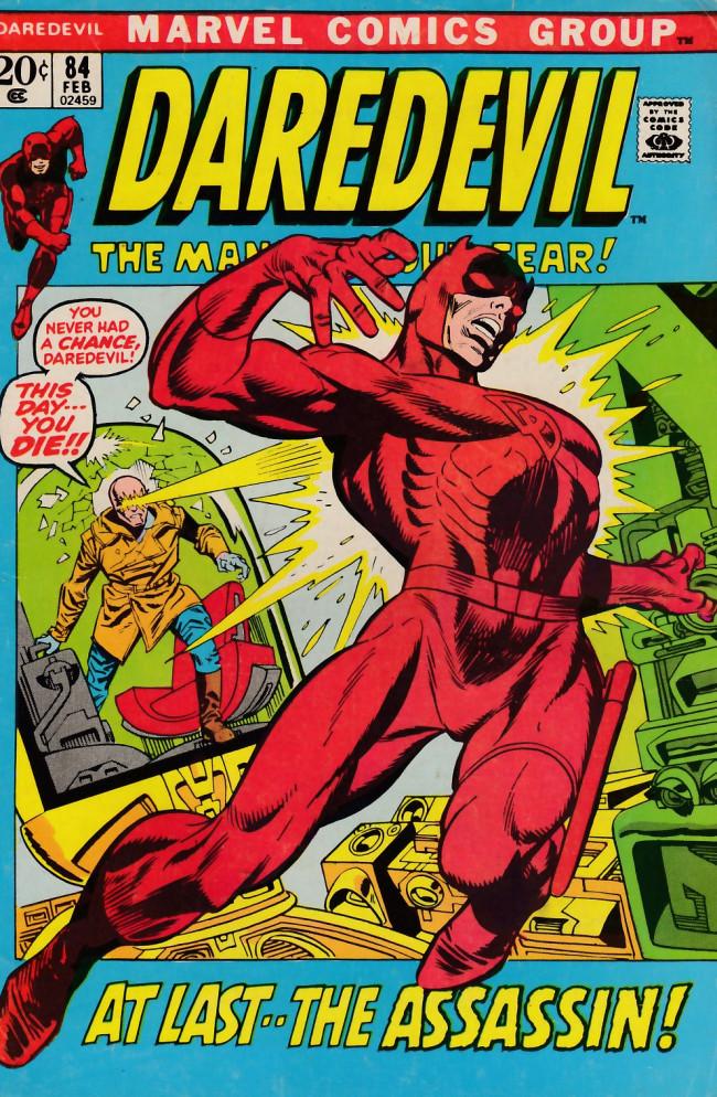 Couverture de Daredevil Vol. 1 (Marvel - 1964) -84- Night of the assassin