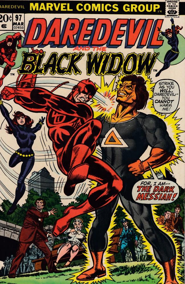 Couverture de Daredevil (1964) -97- He who saves