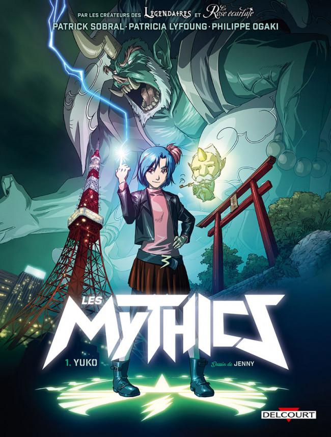 Couverture de Les mythics -1- Yuko
