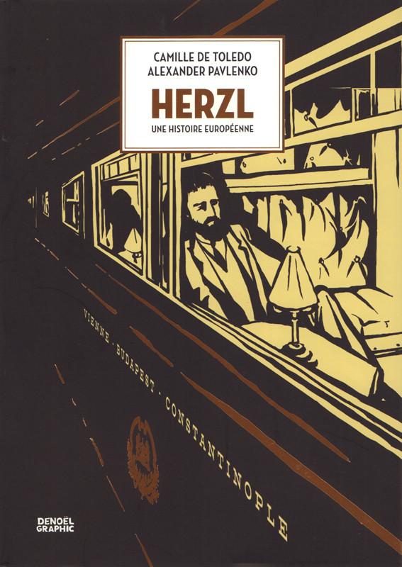 Couverture de Herzl : Une histoire européenne