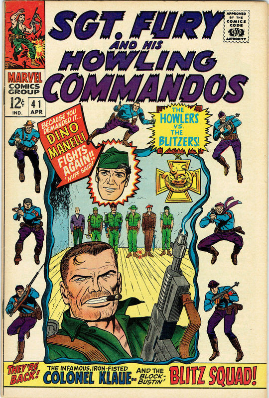 Couverture de Sgt. Fury and his Howling Commandos (Marvel - 1963) -41-