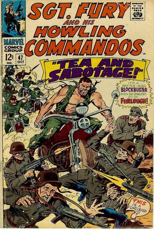 Couverture de Sgt. Fury and his Howling Commandos (Marvel - 1963) -47-