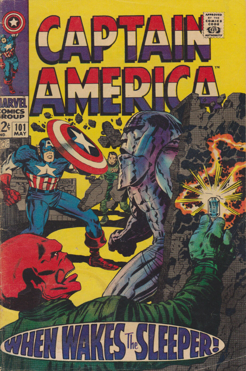 Couverture de Captain America (1968) -101- When wakes the sleeper!
