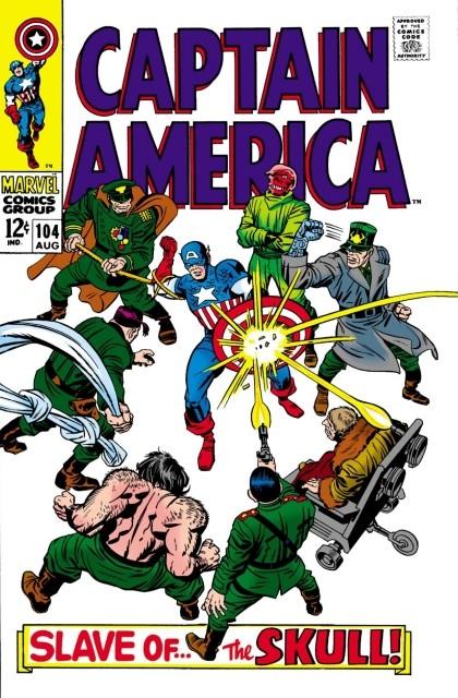 Couverture de Captain America (Marvel comics - 1968) -104- Slave of the skull!