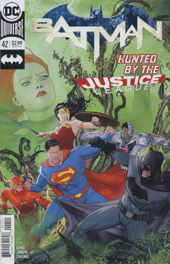 Couverture de Batman (2016) -42- Everyone Loves Ivy, Part Two