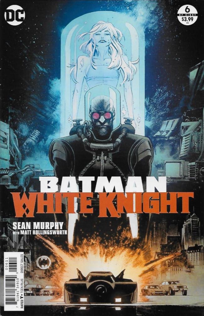 Couverture de Batman: White Knight (2017) -6- Issue 6