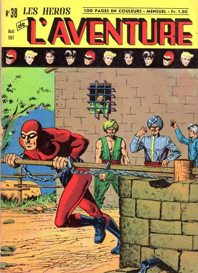 Couverture de Les héros de l'aventure (Classiques de l'aventure, Puis) -38- Le Fantôme : L'histoire de la chaîne