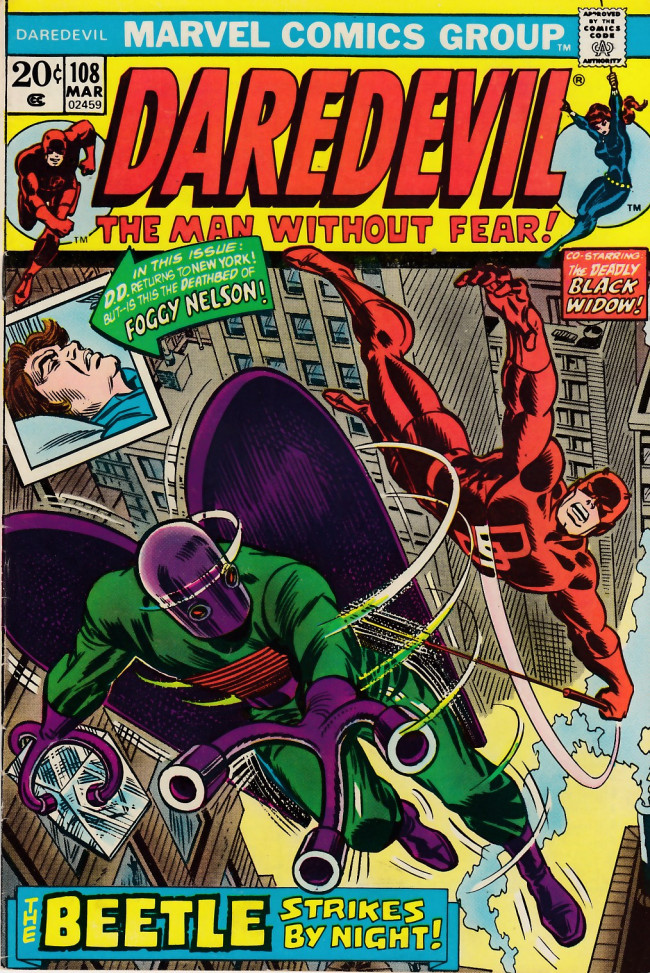 Couverture de Daredevil (1964) -108- Cry beetle