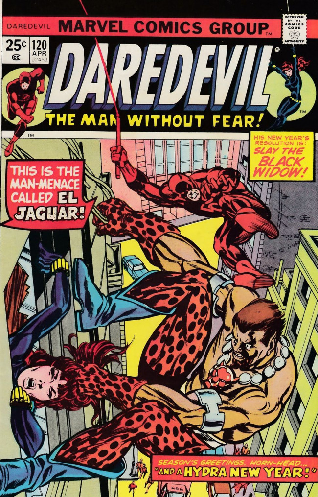 Couverture de Daredevil Vol. 1 (Marvel - 1964) -120- And an Hydra New Year