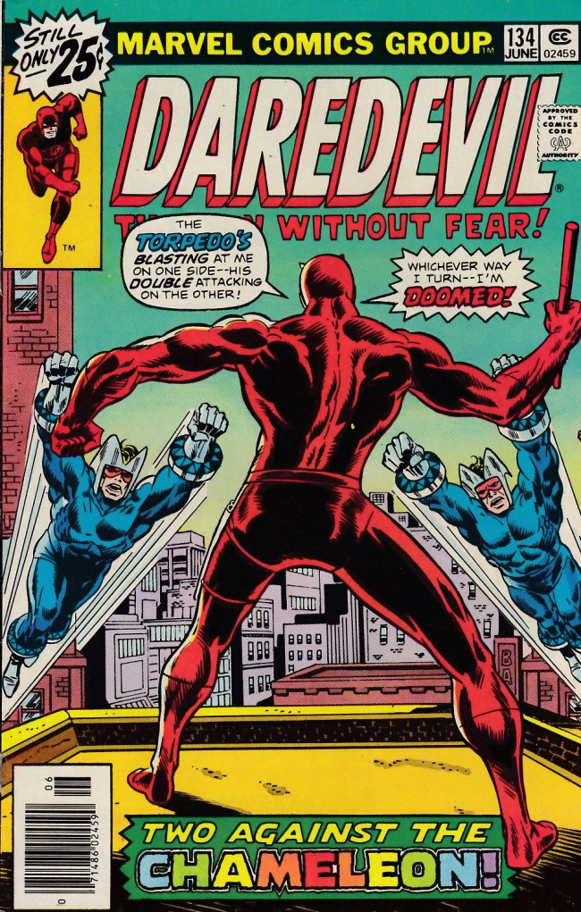 Couverture de Daredevil Vol. 1 (Marvel - 1964) -134- There's Trouble In N.Y.C...