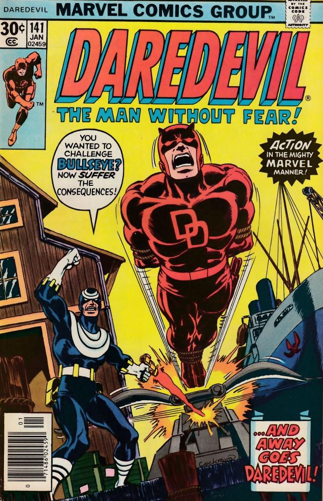 Couverture de Daredevil Vol. 1 (Marvel - 1964) -141- Target: Death