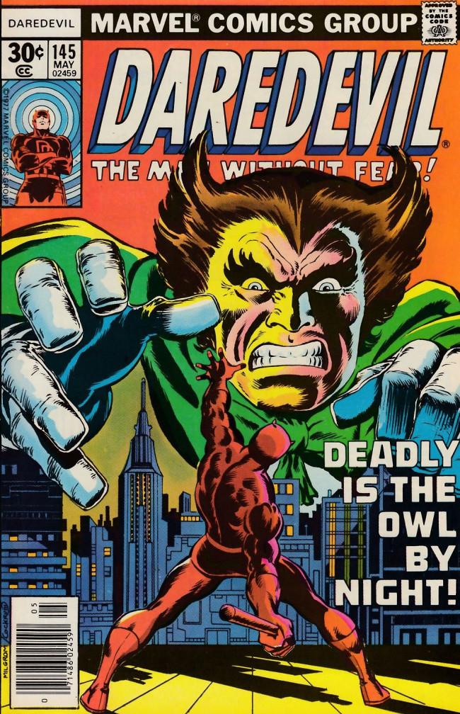 Couverture de Daredevil Vol. 1 (Marvel - 1964) -145- Danger rides the bitter wind