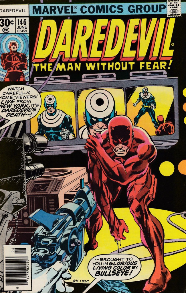 Couverture de Daredevil Vol. 1 (Marvel - 1964) -146- Duel