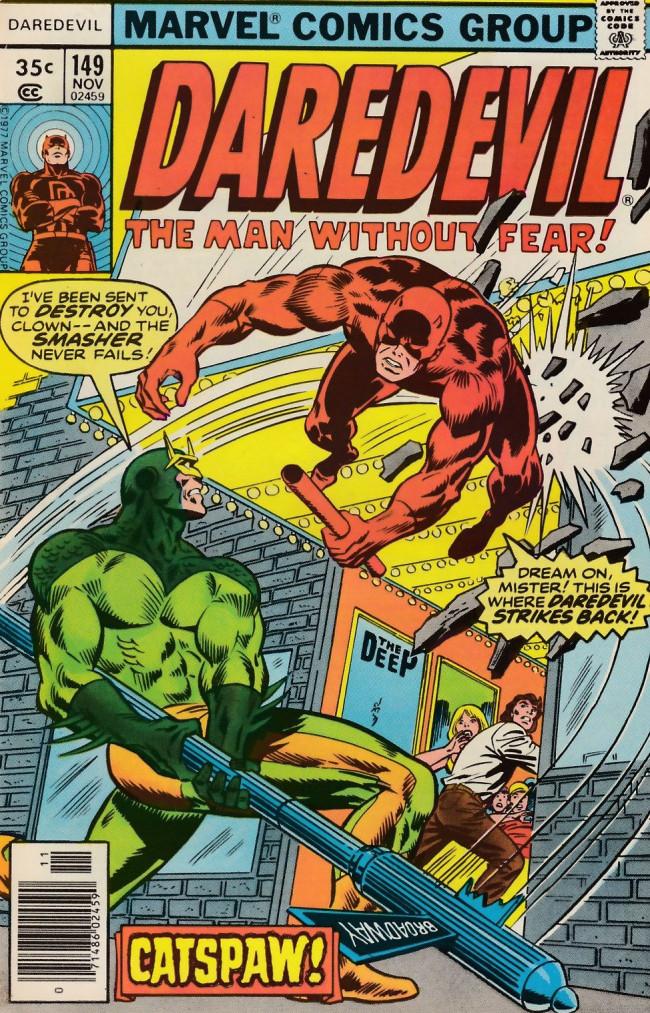 Couverture de Daredevil (1964) -149- Catspaw