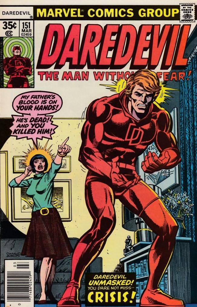 Couverture de Daredevil (1964) -151- Crisis