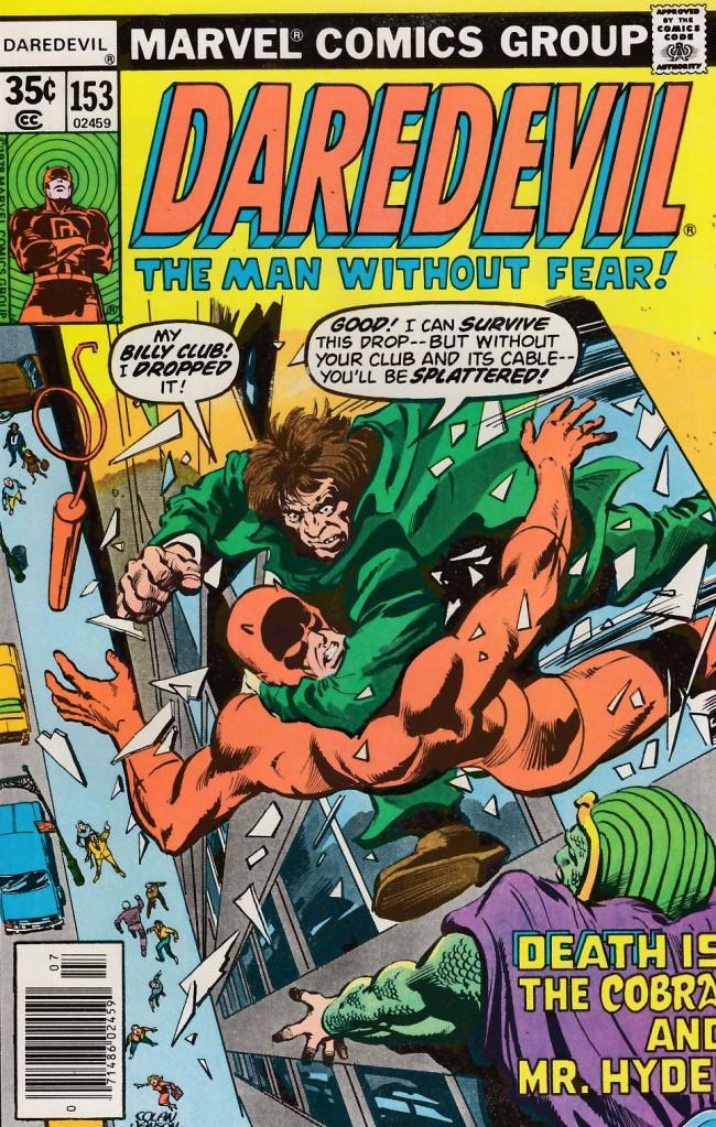 Couverture de Daredevil (1964) -153- Betrayal