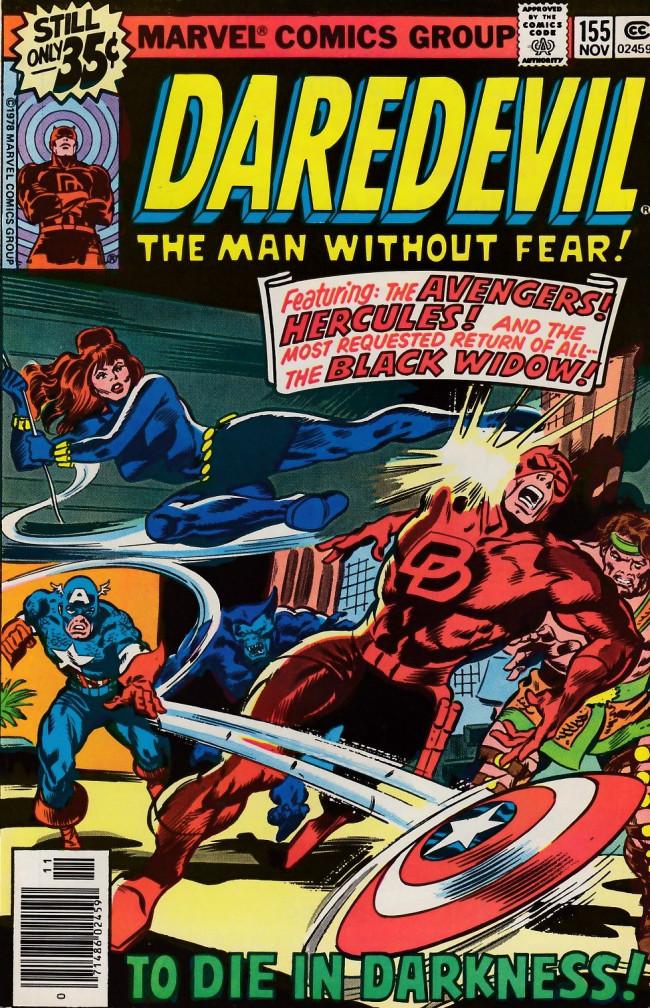 Couverture de Daredevil (1964) -155- The Man Without Fear?