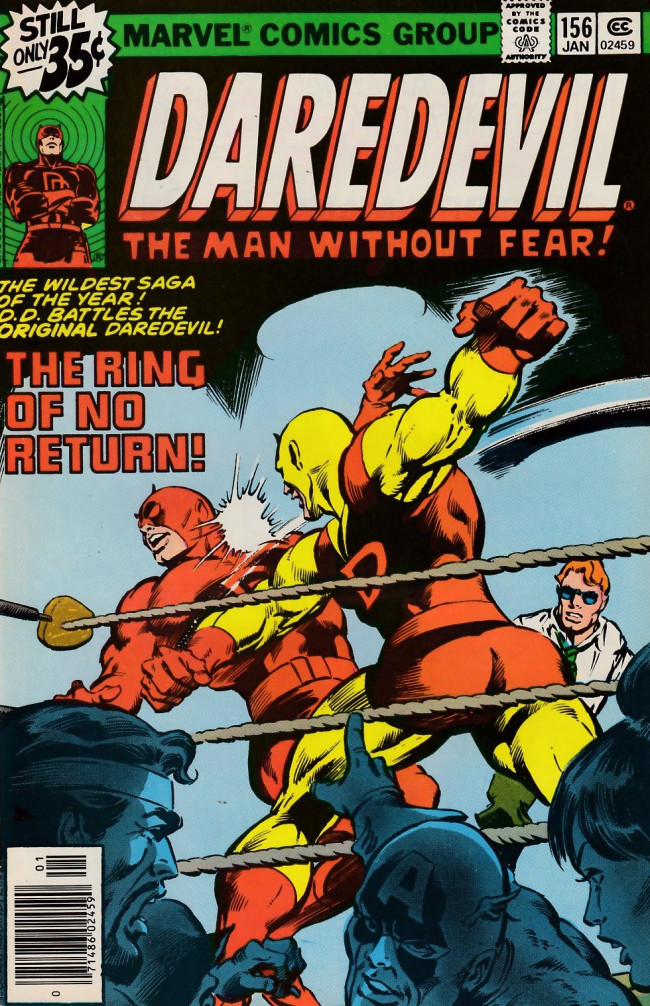 Couverture de Daredevil (1964) -156- Ring Of Death