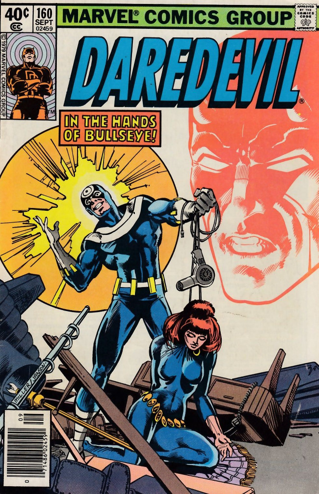 Couverture de Daredevil (1964) -160- In the Hands of Bullseye