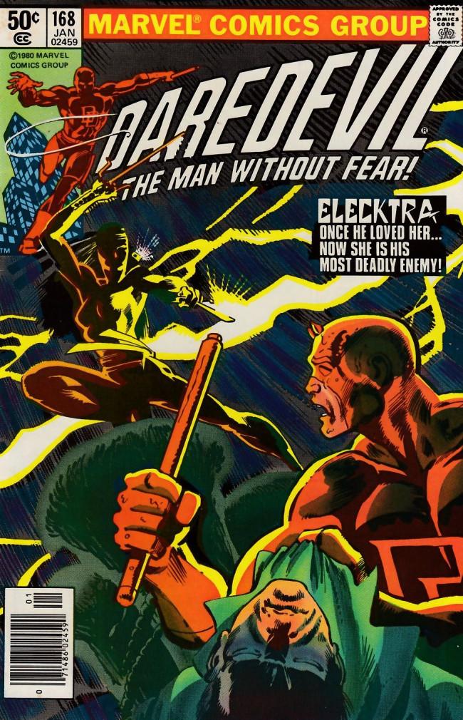 Couverture de Daredevil Vol. 1 (Marvel - 1964) -168- Elektra