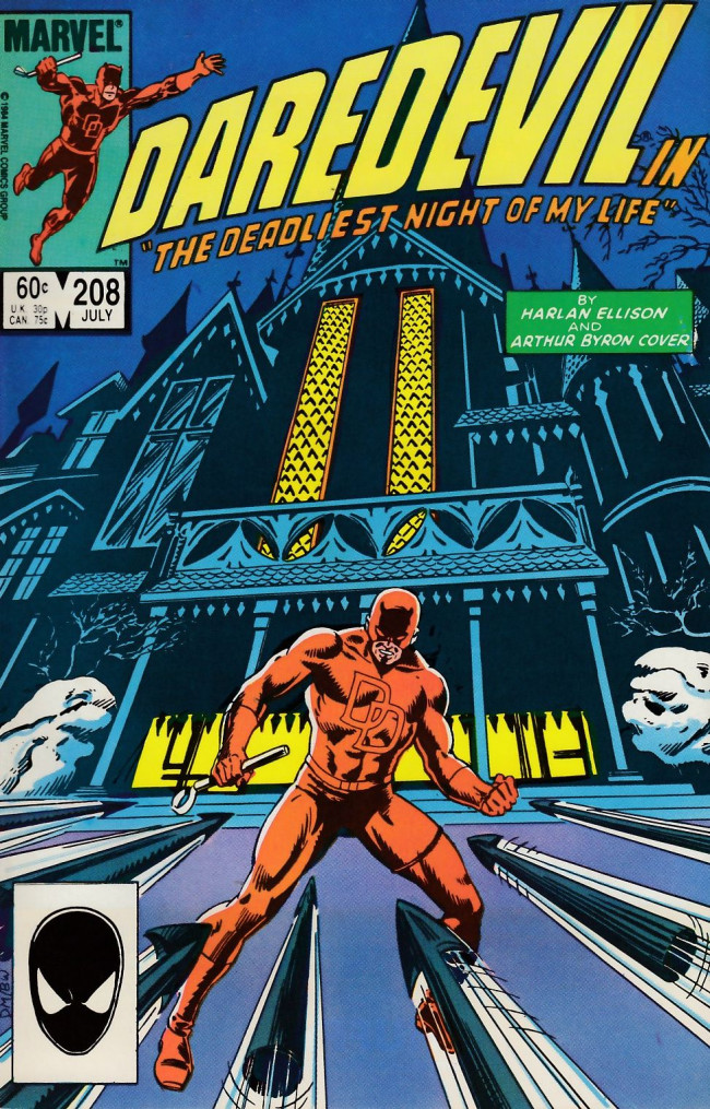 Couverture de Daredevil Vol. 1 (Marvel - 1964) -208- The deadliest night of my life