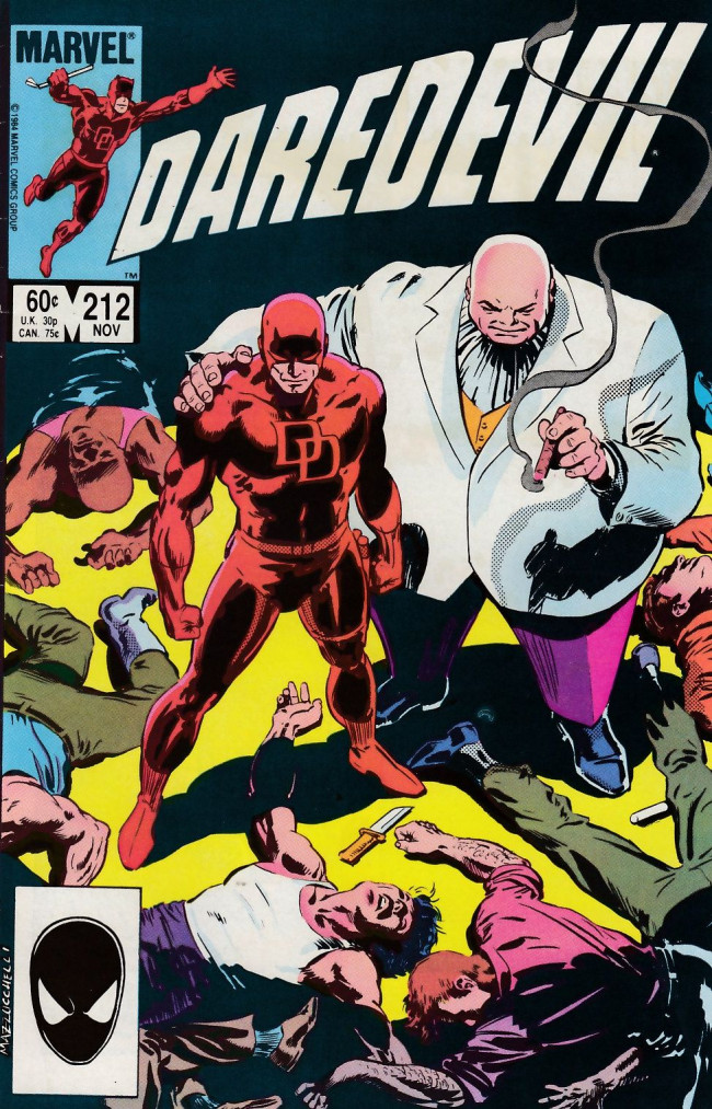 Couverture de Daredevil Vol. 1 (Marvel - 1964) -212- Lies