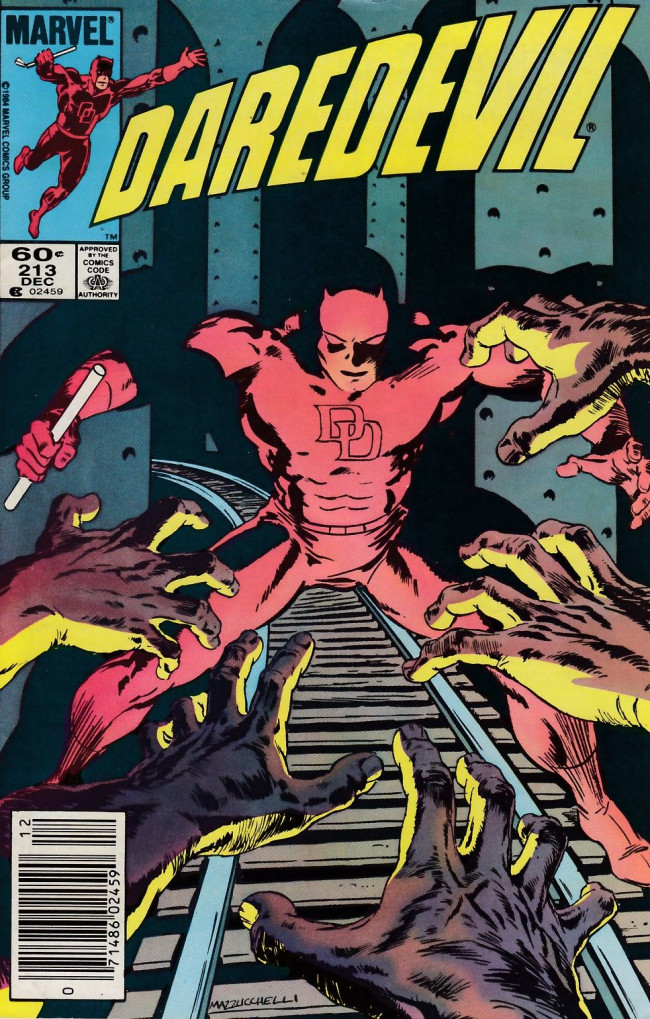 Couverture de Daredevil Vol. 1 (Marvel - 1964) -213- War on Micah Synn II: The blindness men wish for