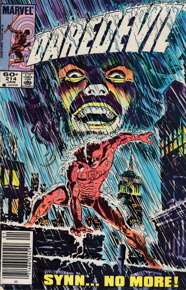 Couverture de Daredevil (1964) -214- The crumbling