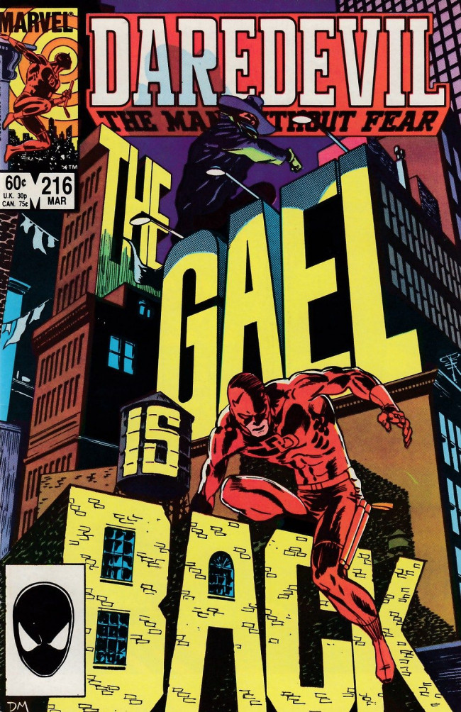 Couverture de Daredevil Vol. 1 (Marvel - 1964) -216- The second secret