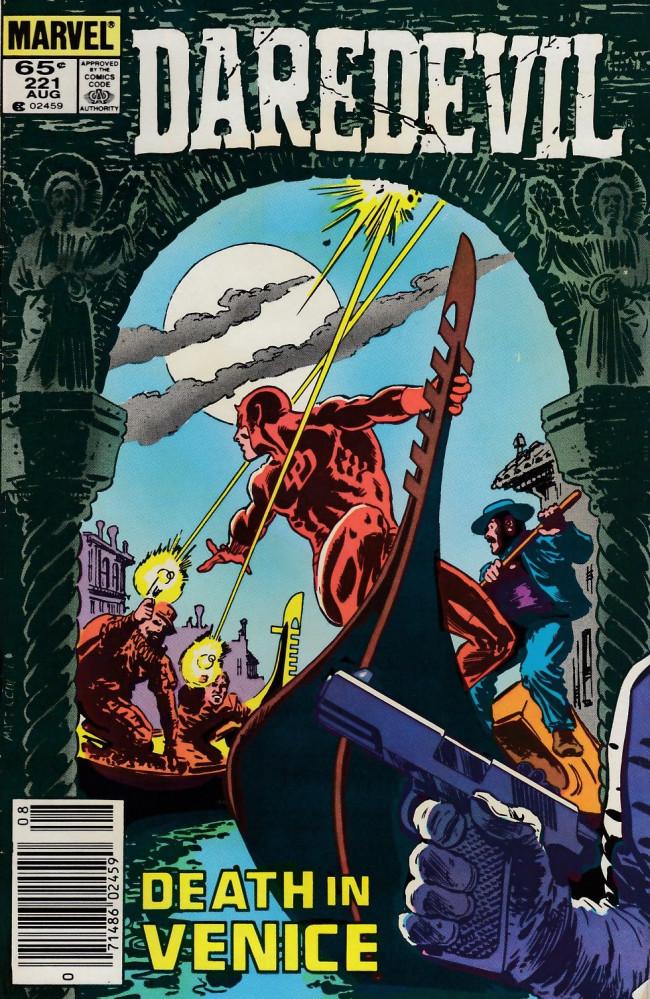 Couverture de Daredevil (1964) -221- Behold my revenge