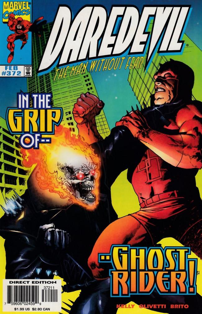 Couverture de Daredevil (1964) -372- Devil and the demon