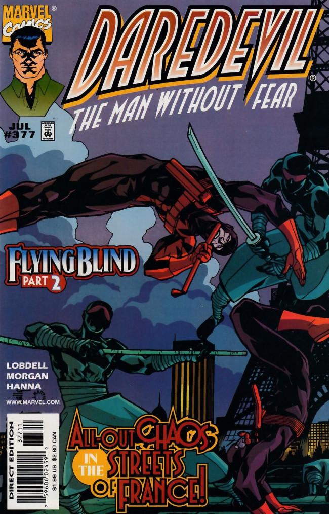 Couverture de Daredevil (1964) -377- Flying blind part 2