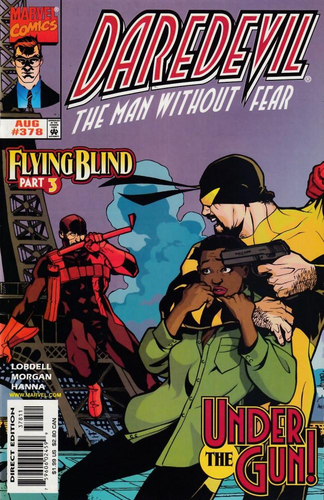 Couverture de Daredevil Vol. 1 (Marvel - 1964) -378- Flying blind part 3