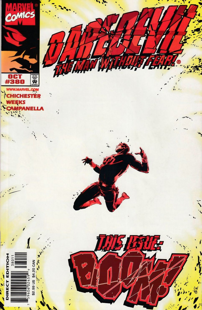 Couverture de Daredevil (1964) -380- Just one good story