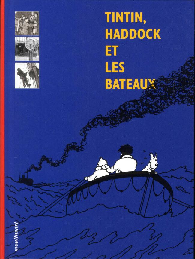 Couverture de Tintin - Divers -Cat- Tintin, Haddock et les bateaux