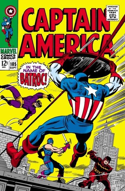 Couverture de Captain America (1968) -105- In the name of batroc!
