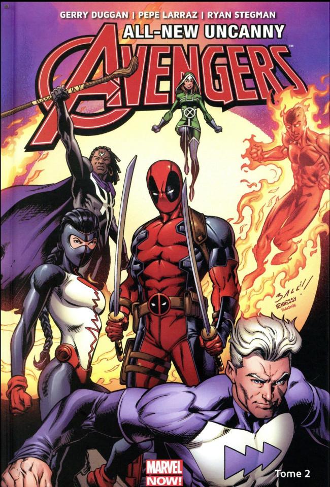 Couverture de All-New Uncanny Avengers -2- L'homme tombé du ciel