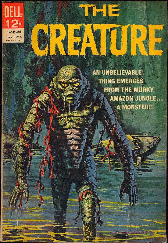 Couverture de Movie Classics (Dell - 1962) -142- The Creature