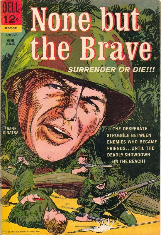 Couverture de Movie Classics (Dell - 1962) -565- None But the Brave