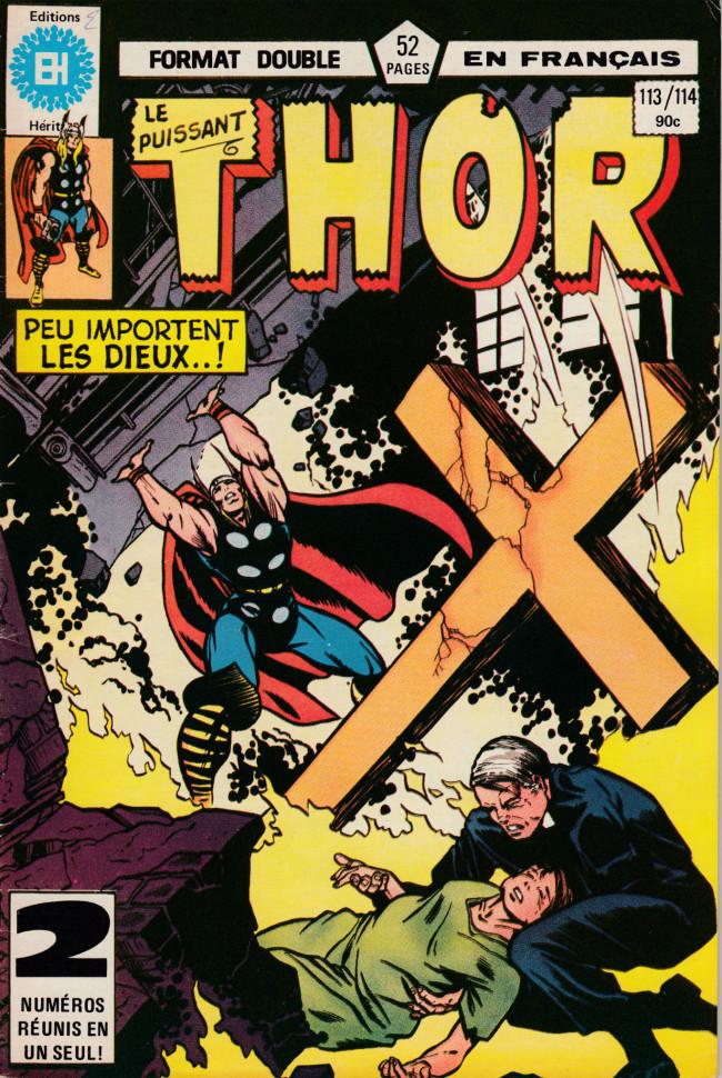 Couverture de Thor (Éditions Héritage) -113114- Le miracle des tempêtes
