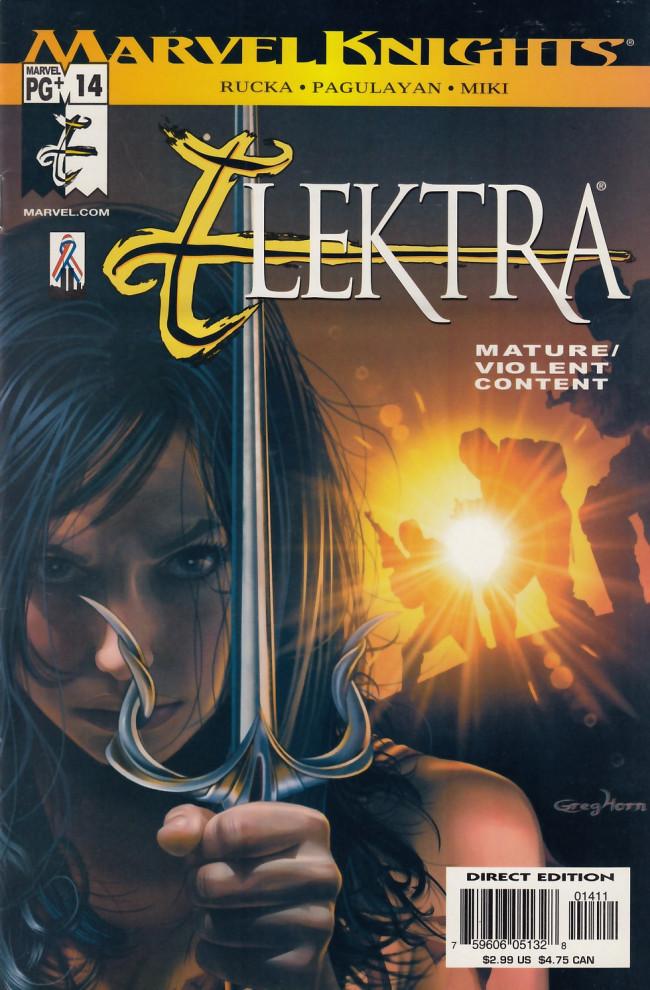 Couverture de Elektra (2001) -14- Introspect Part 4