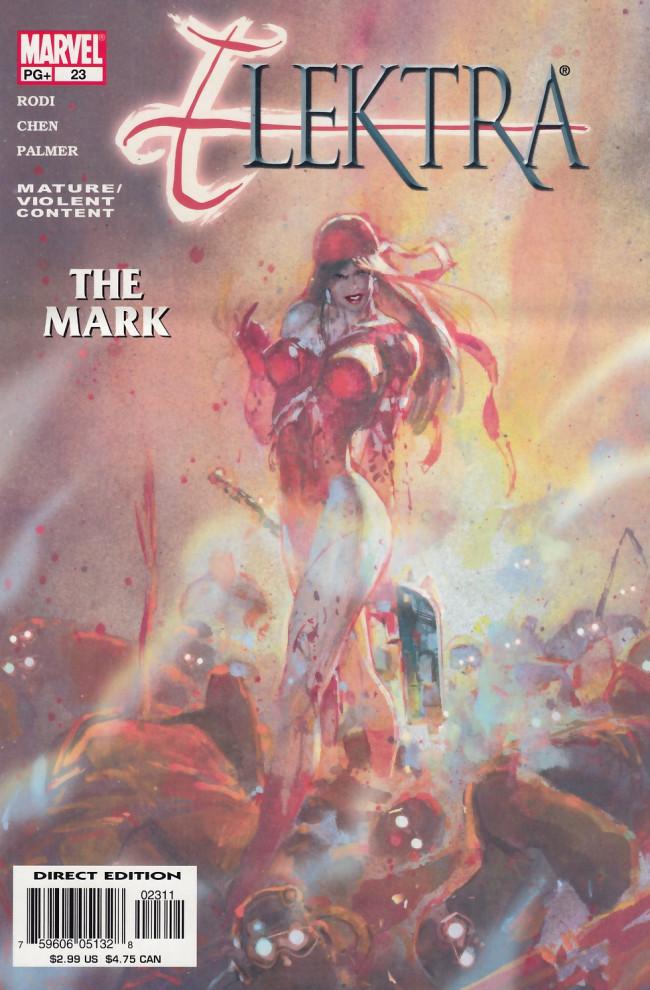Couverture de Elektra (2001) -23- The mark